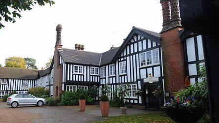 Lenwade House Hotel closed suddenly on Saturday. Picture: Denise Bradley