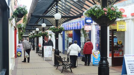 The post office at Martin's newsagent on Miller's Walk, Fakenham, is set to close. Picture: Archant