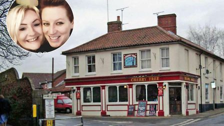 The landladies of a town centre pub have warned other owners to remain vigilant after thieves stole
