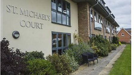 St Michael's Court in Aylsham has been rated inadequate by CQC for the third time in ten months. Pic