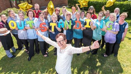 Hassingham House care home, in Hingham, was rated 'outstanding by the Care Quality Commission in 201