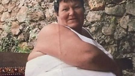 Dianne Dack (pictured before), of Dereham, has lost a total of 11 stone and 7lbs. Picture: SUPPLIED