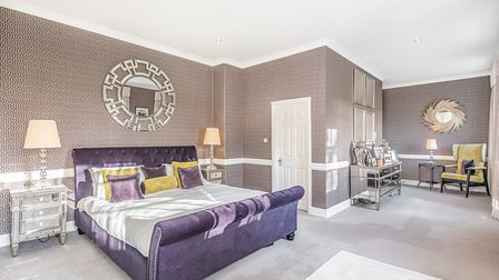 This four-bedroom townhouse at St Andrews Park is on the market at a guide price of £675,000. Pictur