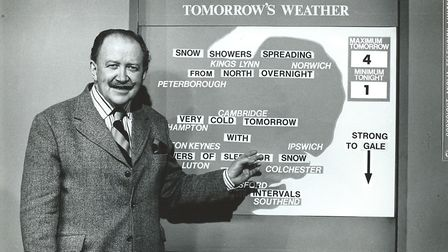 Former Anglia TV weatherman who was born in 1920