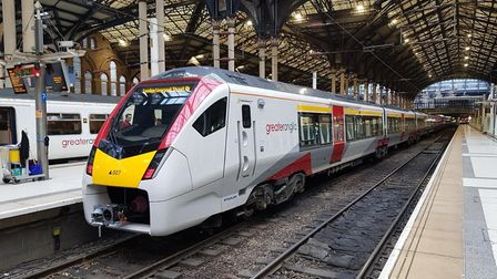 The new Greater Anglia intercity train have no first class seating for wheelchair users Pic: Greater