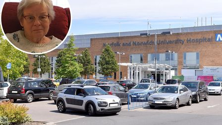 Dereham grandmother Betty Battelley was one of 131 patients whose surgery was cancelled after Norfol