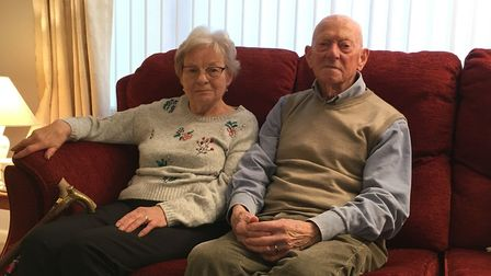 Dereham grandmother Betty Battelley, pictured with her husband Barry, was one of 131 patients whose