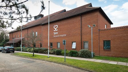 Hospitals refer patients to private hospitals, such as Spire Norwich Hospital, to meet government wa