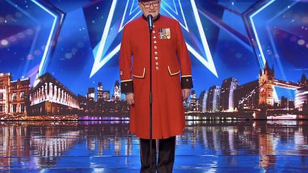 Colin Thackery, from Norwich, captured the hearts of a nation with his performances on Britain's Got