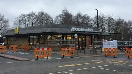 The McDonald's on the Forest Retail Park in Thetford. Picture: Rebecca Murphy