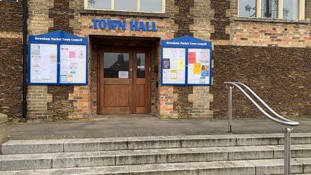 Downham Market town councillors discussed plans to rebrand the town hall at a meeting on Tuesday, Fe