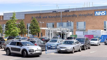 The total deficit at the Norfolk and Norwich University Hospital is predicted to reach £57.8m by the