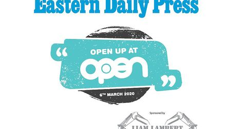 Open up at OPEN, which is being sponsored by Liam Lambert Construction Ltd will take place on March