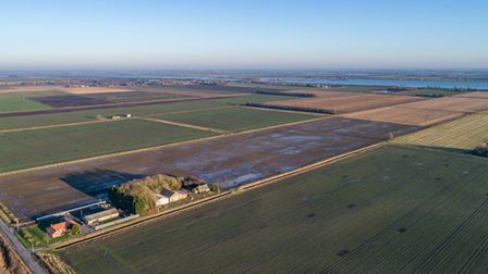 Four new tenancies are available on the Norfolk County Farms estate in 2020. Pictured: NCC Farm, Wel