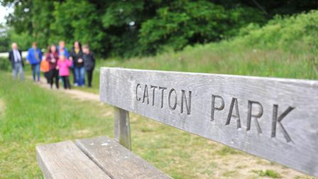 A woman has been banned for drink-driving at Catton Park. Photo: Bill Smith