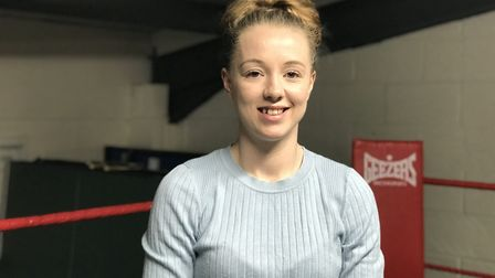 Charley Davison from Lowestoft has been crowned female Under-54kg England Boxing National Amateur Ch