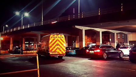 Police crackdown on anti-social vehicles in St Saviours Lane car park. PIC: NSRAPT Twitter.