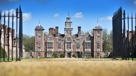 Blickling Hall is among the attractions closed in Norfolk after Storm Ciara hits the region Picture: