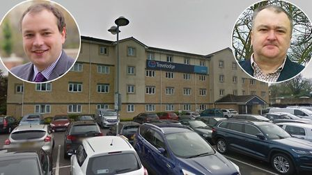 Norwich City Council has bought this Travelodge in Harlow. (left) Martin Schmierer (right) Paul Kend