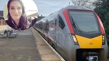 Jamie Klingler was stuck going back and forth to Norwich as she tried to make it to London in the St