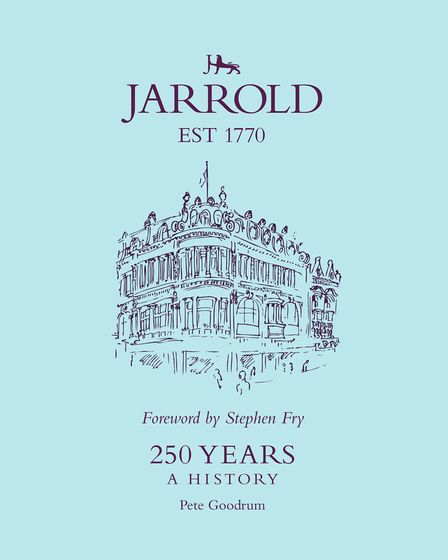 The new book marking 250 years which tells the remarkable story of the Jarrold family. Picture: Jarr
