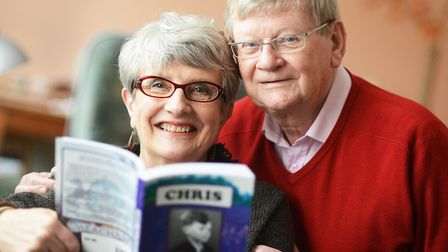 Mary Mackie's book 'Chris'is based on the life of her husband. Picture: Ian Burt