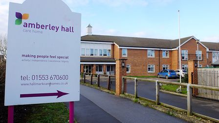 Amberley Hall care home, in King's Lynn. Pictured December 2014