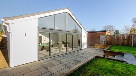The bungalow with a surprise in St William's Way, Thorpe St Andrew, for sale for £425,000. Pic: Zoop