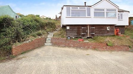 The Marrams, Hemsby; for sale for £40,000. Pic: Zoopla.
