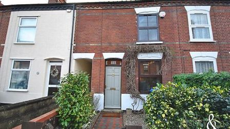 Stacy Road; for sale for offers over £190,000. Pic: Zoopla.