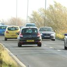 Traffic on the Acle Straight. Photo: James Bass
