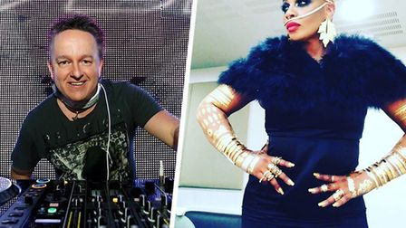 DJ SASH! and Janice Robinson are heading to Norwich to perform at an Out of Space event night. Pictu