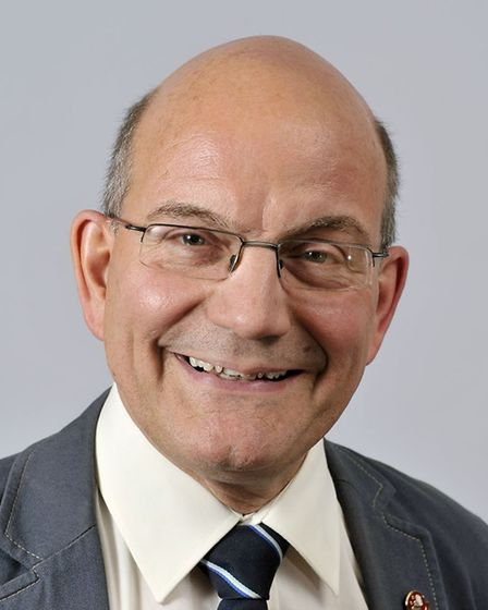 Cabinet Member for Children's Services at Norfolk County Council, Cllr John Fisher. Photo: Broadland