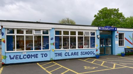 The Clare School has been shut because of heating and power issues. Picture: ANTONY KELLY
