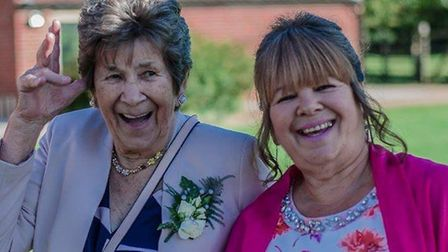 Doreen Wakefield, pictured with daughter Susan Nobbs, had to be moved three times in four months fol