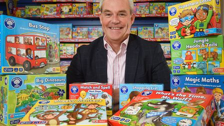 Orchard Toys' MD Simon Newbery. Pic: Archant