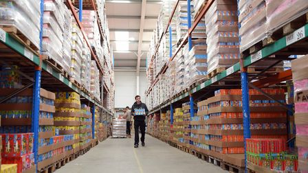 The warehouse at Orchard Toys at Wymondham. Picture: DENISE BRADLEY
