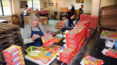 Production at Orchard Toys at Wymondham. Picture: DENISE BRADLEY