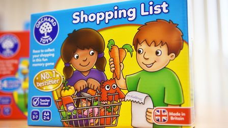 Orchard Toys' best-selling game, which encourages children away from their gadgets. Pic: Archant
