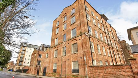 This two-bedroom apartment at Albion Way, King Street, is on the market for offers in excess of £250
