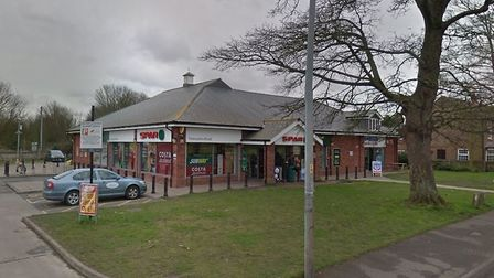The Spar shop in King's Lynn where officers wrestled with Leon Ogunleye. Picture: Google