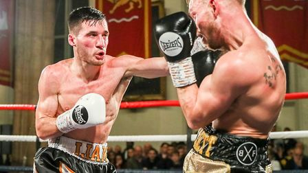 Norwich's unbeaten Liam Goddard is back in the ring at the end of February Picture: Mark Hewlett