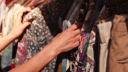 Why not try selling your unworn clothes at a pre-loved sale? Picture: Getty Images/iStockphoto