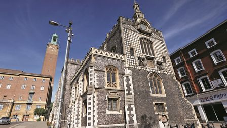 Norwich's Guildhall was the centre of city government from the early fifteenth century until 1938. T