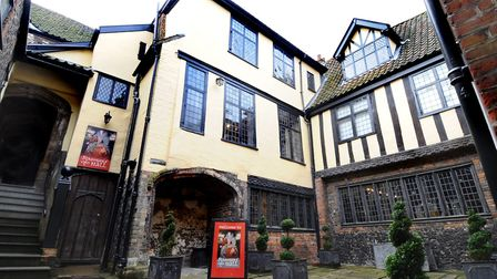 The Strangers Hall Museum which was once at the centre of the textile industry. Credit: Denise Bradl