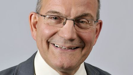 John Fisher, Norfolk County and Broadland District councillor for Thorpe St Andrew. Photo: Broadland