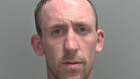 Martyn Mitchell, 30, who has links to Lowestoft, Newmarket, Great Yarmouth and Clacton-on-Sea, is wa