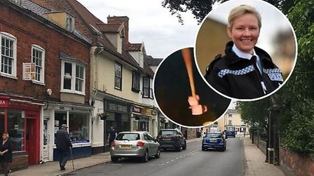 The police have warned against vigilantism after posts to a local Facebook group suggested townspeop