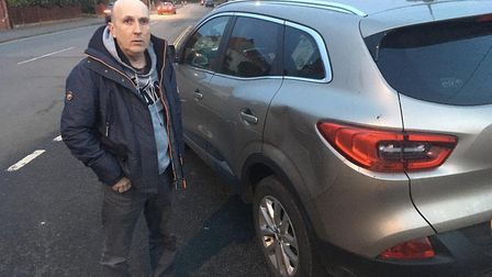 Jeremy Barber, whose mobility car was targeted by vandals on February 5. PHOTO: Archant