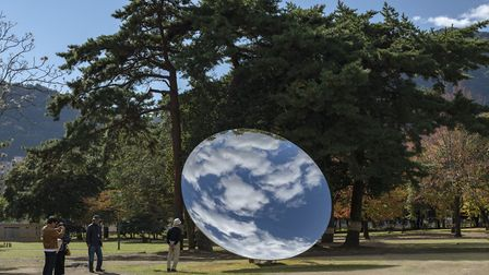 Anish Kapoor at Houghton Hall, an exhibition featuring work from the sculptor's 40-year career, is s